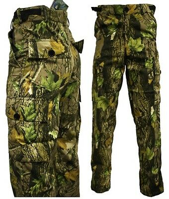 £23.74 • Buy Stormkloth Gods Country Camo Camouflage Cargo Trousers Pants Hunting Fishing