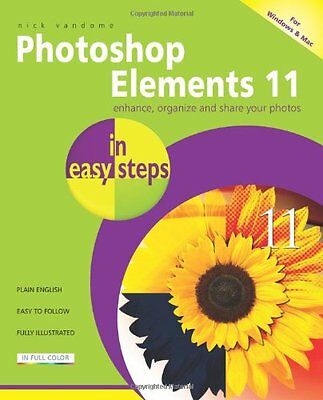 £2.15 • Buy Photoshop Elements 11 In Easy Steps By Nick Vandome