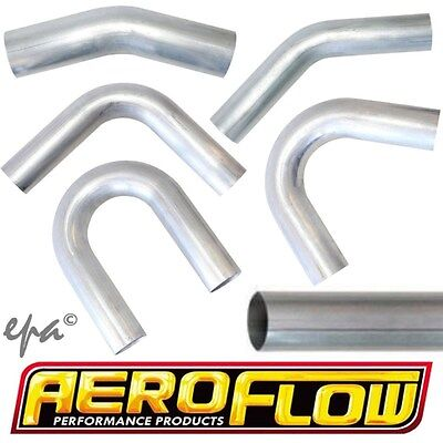 AU47.90 • Buy Aeroflow Alloy Aluminium Tube & Mandrel Bend Intercooler Intake Pipe Piping