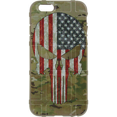 $39.95 • Buy Magpul Field Case For IPhone SE(2017),4,5s. Multicam/Scorpion USA Flag Punisher