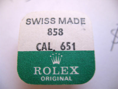 $ CDN521.23 • Buy Rolex 651 Watch Balance Complete Part Number 858 (721)