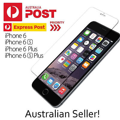 AU2.48 • Buy GENUINE Tempered Glass Screen Protector / Film For IPhone 6 6s 6 Plus 6s Plus