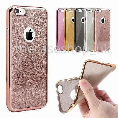 AU5.42 • Buy New Bling Silicone Glitter ShockProof Case Cover For Apple IPhone 7 6 6s 7 Plus