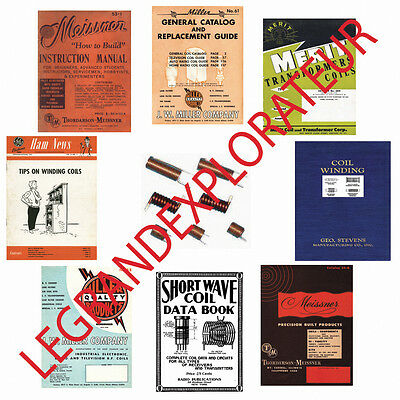 Ultimate RF Shortwave Radio Coil Winding Manual Book Collection    55 PDF On DVD • 10.85£