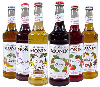 Monin Coffee Syrups 1 Litre Bottles - Pumps Available - AS USED BY COSTA COFFEE • 10.85£
