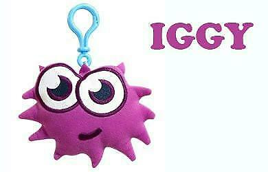 Moshi Monsters Moshlings Backpack Clip Plush Figure Iggy • 8.06£