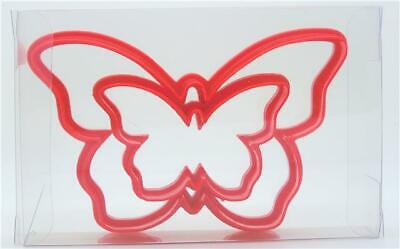 £2.99 • Buy Butterfly Cookie Cutter Set Of 2, Biscuit, Pastry, Fondant Cutter