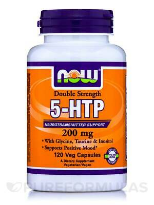 $ CDN55.26 • Buy 5-HTP 200 Mg - 120 Veg Capsules By NOW