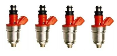 AU233.99 • Buy 4 FUEL INJECTORS For HOLDEN RODEO TF 4ZE1 2.6L 94-98 RED TOP INJECTOR