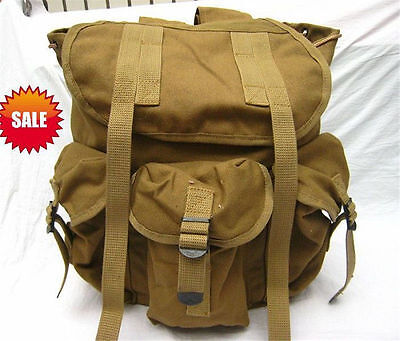 $26.65 • Buy Wwii Ww2 Us Army Musette M14 Military Haversack Canvas Military Backpack Pouch