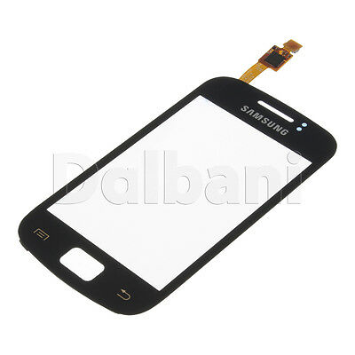 New Glass With Touch Screen Digitizer For Samsung Galaxy Mini 2 S6500 Black • 8.69£