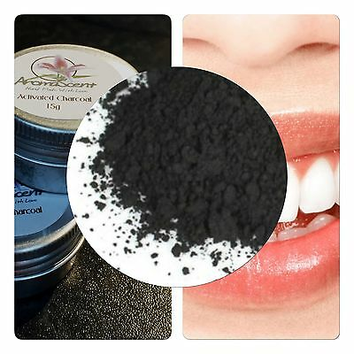 AU5.85 • Buy Organic Activated Charcoal Powder For Natural Teeth Whitening & Stain Remover