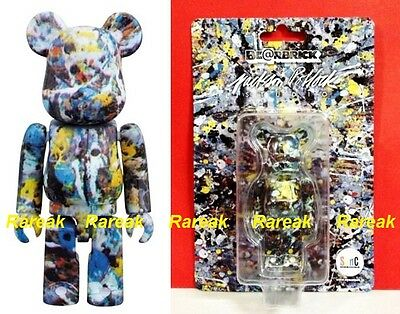 $117.99 • Buy Medicom 2016 Be@rbrick Jackson Pollock Studio 100% Spray Pattern Bearbrick 1pc