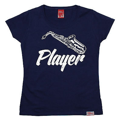 AU18.64 • Buy Saxophone Player WOMENS T-SHIRT Music Group Woodwind Instrument Mothers Day Gift