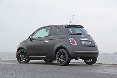 Fiat 500 Black Rubber Replacement Am/fm Aerial Antenna Roof Mast • 4.95£