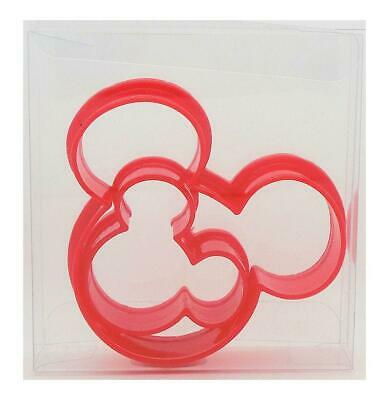 Mickey Mouse Ears Set Of 2 Cookie Cutter, Biscuit, Pastry, Fondant Cutter • 2.99£