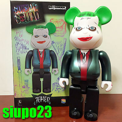 $159.99 • Buy Medicom 400% Bearbrick ~ DC Comics Joker Be@rbrick Suicide Squad Version Batman