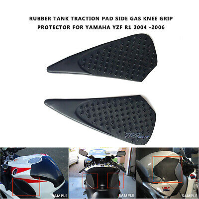AU18.66 • Buy For Yamaha YZF R1 2004/2005/2006 3M Tank Traction Pad Side Gas Knee Grip Pads