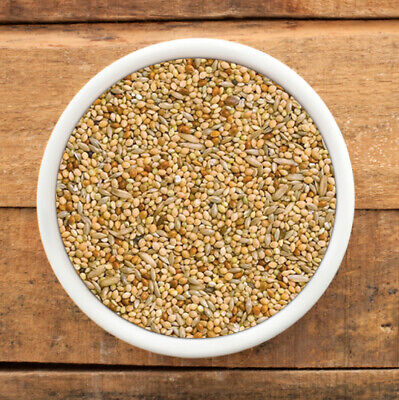 Budgie Seed, Ideal Mix Of Red And White Millet With Canary Seed, 250 Gm To 20 Kg • 5.45£