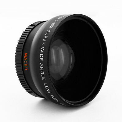 AU21.89 • Buy 0.45x Wide Angle Lens W/ Macro For Sony Alpha A6000 ILCE-6000L ILCE-6000 Camera