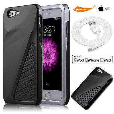 AU32.98 • Buy Dust Proof Hybrid Case For Iphone 6 / 6s PLUS Certified Apple USB Charger Cable