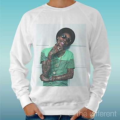 Men's Sweatshirt Light Sweater White   Wiz Khalifa Music Rap   Road To Happiness • 26.64£