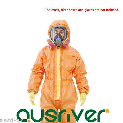 3M 4690 Protective Coverall Chemical Liquid Nuclear Radiation Protection Suit • 88.60$
