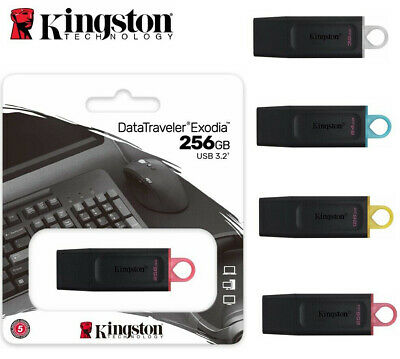 AU14.80 • Buy Kingston USB 3.0 Flash Drive 16GB 32GB 64GB 128GB 8GB DataTraveler Memory Stick
