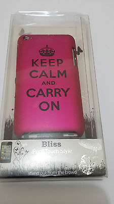 £5.99 • Buy Bliss Ipod Touch Style Trend Case Skin Keep Calm And Carry On *new*