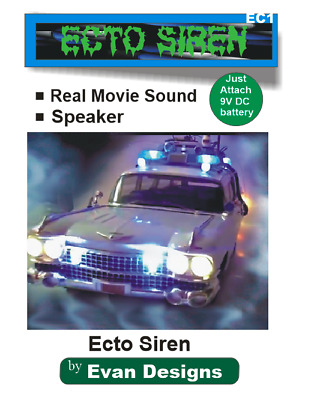 Ghostbusters ECTO 1 Siren Circuit For Diecast Models And R/C Vehicles! • 13.11£