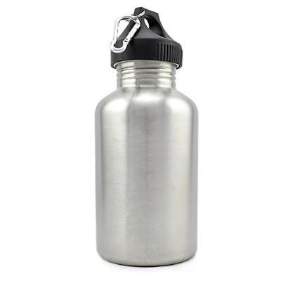 AU20.77 • Buy 2L Stainless Steel Wide Mouth Cycling Sports Drinking Water Bottle