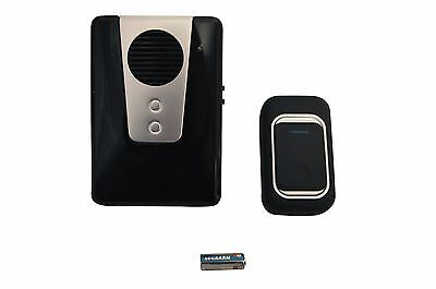 Wireless Home Digital Doorbell 150m Range Cordless Door Bell 25 Chimes Plug In • 9.99£
