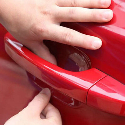 $0.99 • Buy 4* Auto Car Door Handle Invisible Protecting Films Sticker Scratch SUV Sticker