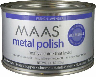 $34.52 • Buy MAAS 1.1lb Can Silver Brass Copper Metal Polish Cleaner