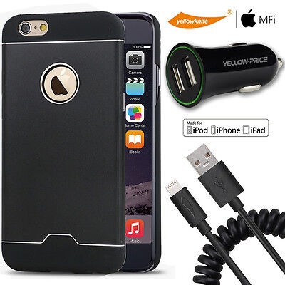 AU38.98 • Buy Carplay Charging Cable 2.4A Car Charger For Iphone 6 / 6s PLUS Hybrid Metal Case