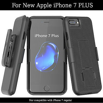 AU20.59 • Buy IPhone 7 PLUS 5.5  Belt Clip Case Shell Holster Combo Easy Grip With Kickstand