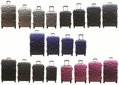 20  24  28  32  Hard Shell Suitcase 4 Wheel Spinner Luggage Case Trolley Cabin  • 23.99£