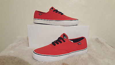 AU35.98 • Buy Dvs Mens Fantom Red Shoes Trainers Uk Size 8 New Unboxed Skateboarding