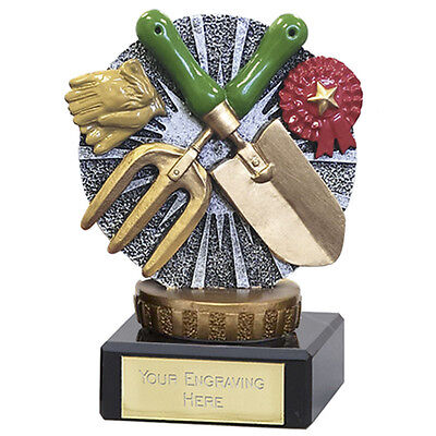 £7.99 • Buy  Gardening  Trophy, Solid Plastic Top And Heavy Marble Base,137a Fx067