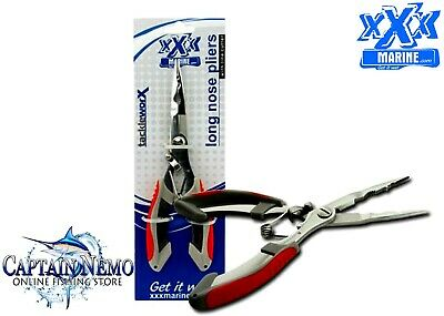 AU14.95 • Buy Xxx Marine Stainless Steel Long Nose Fishing Tool Cutter Tackle Pliers Ft2