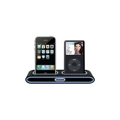DreamGEAR I.SOUND Twin Charger - Iphone Ipod Digital Player Charging Stand • 4.97£