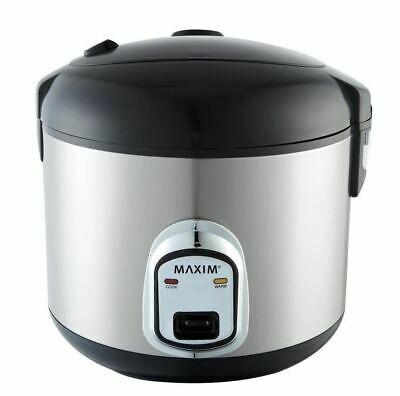 AU45 • Buy Maxim Kitchen Pro 1.8L/10 Cup Rice Cooker/Steamer Healthy Cooking Non-Stick
