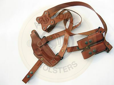 $79.99 • Buy Left Hand Armadillo Tan Horizontal Miami Shoulder Holster For S&W MP Models