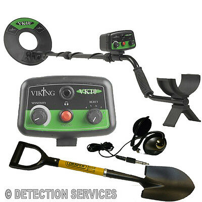 Viking VK10+ Metal Detector Novelty With Coil From 10  Concentric Powerful • 208.50£