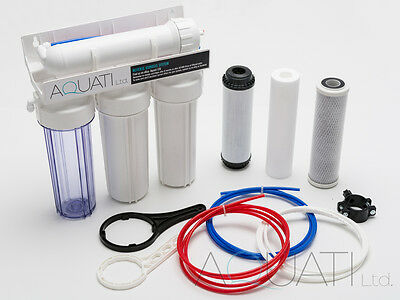 Large Reverse Osmosis System Pure Water Filter Perfect For Aquarium& Hydroponics • 62.95£