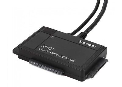 AU38.99 • Buy 3-IN-1 USB 3.0 TO 2.5 , 3.5  & 5.25  SATA/IDE Adapter With Power Supply