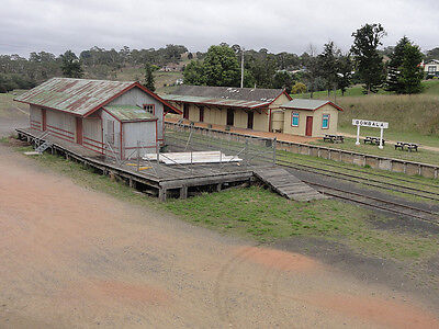 $ CDN191.91 • Buy HO Scale Bombala Train Station And Out Buildings (KITS)