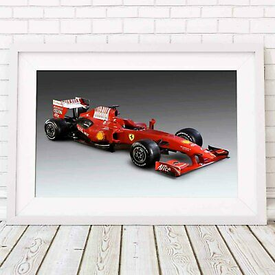 AU24.95 • Buy FERRARI - Formula 1 Car Poster Picture Print Sizes A5 To A0 **FREE DELIVERY**