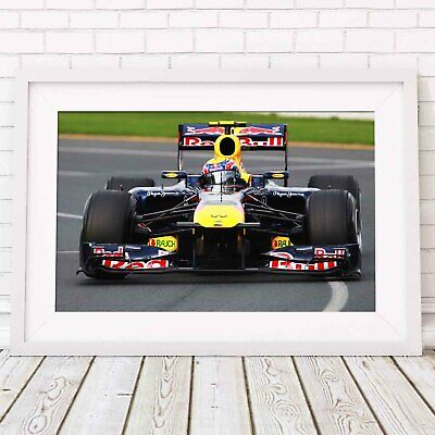 AU17.95 • Buy RED BULL - Formula 1 Car Poster Picture Print Sizes A5 To A0 **FREE DELIVERY**