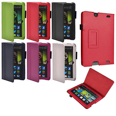 High Quality Amazon Kindle Fire HD 7  2013 Version Smart PU Leather Stand Cover • 4.99£